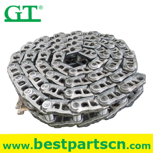 PC200-1-3/5/7 track link,replacement parts hitachi track chain assembly