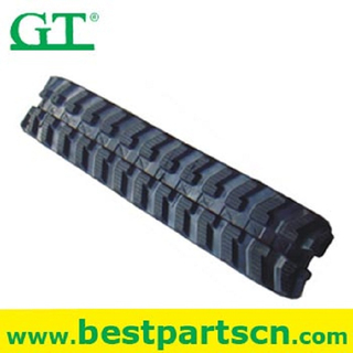 customized size factory diagram Crawler Crane rubber track shoe plate