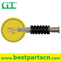 Excavator undercarriage Parts Track Adjuster Recoil Spring Idler Assembly
