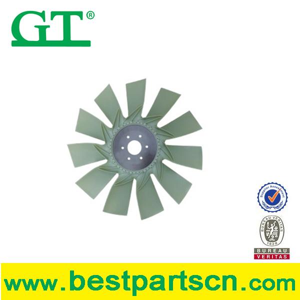 Excavator Kato HD700 Engine Fan cooling engine no.6D31 Industrial Engine cooling fan blade, exhaust fan, fan blower