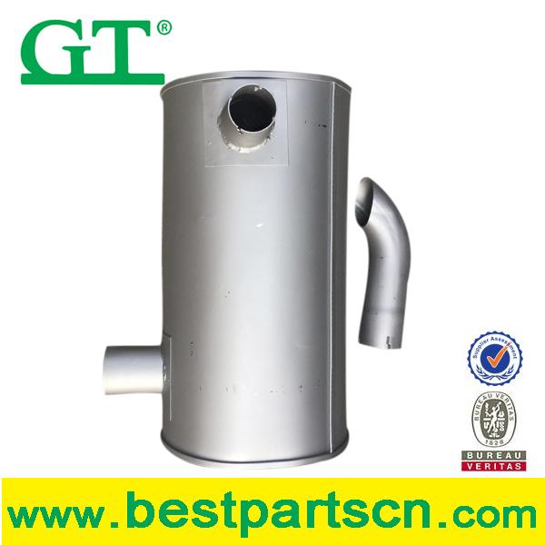 Exhaust muffler for E320C/320D/PC200/EX200