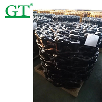excavator and bulldozer track link assembly d6d